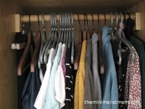 Simplify For Fall: Clothes & Laundry Room