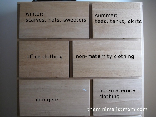 Simplify For Fall Day 1 Clothes Laundry Room the minimalist mom