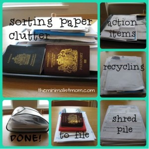 Simplify For Fall: Paper Clutter & Budgets