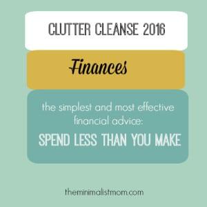 Week 5: money habits