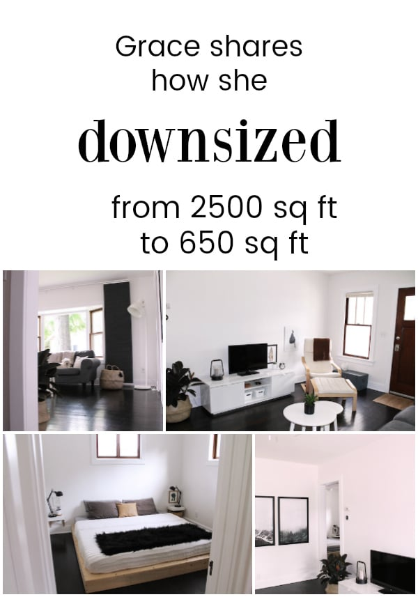 Downsizing Beautifully From 2500 Sq Ft To 650 Sq Ft The Minimalist Mom